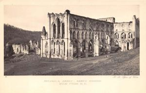 Postcard Rievaulx Abbey - Abbey Church from North East H.M Office Of Works