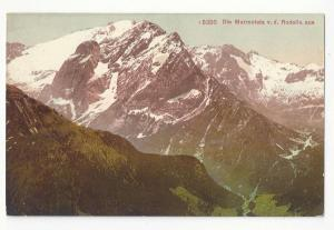 Italy Tirol Alps Marmolata von d. Rodella Vintage Postcard
