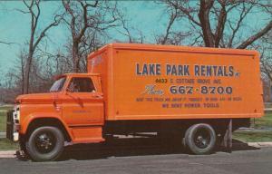 CHICAGO , Illinois, 1950-60s ; Lake Park Rentals Truck