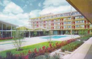 Marriott Motor Hotel With Pool Hot Shoppes Rerstaurant Washington D C