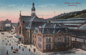 COBLENZ, Rhineland-Palatinate, Germany , 00-10s ; Kauptbahnhof