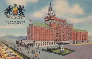 The Shelburne Hotel Atlantic City New Jersey Curteich