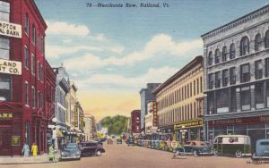 Main Street , RUTLAND , Vermont , 30-40s