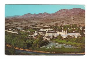 Phoemix Arizona Resort Hotel Biltmore Aerial Birdseye View Vintage Postcard