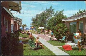 Florida ST. PETERSBURG BEACH Fairway Manor, 4980 Gulf Blvd - pm1965 - Chrome