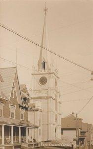 RP; MACHIAS , Maine , 1900-10s ; Cong. Church