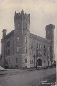 Rhode Island Pawtucket The Armory 1908