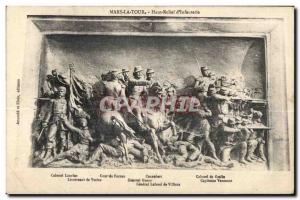 Mars la Tour - High Relief of Infantry - Old Postcard Militaria