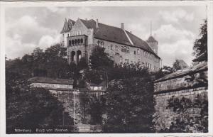 Germany Nuernberg Burg von Westen Real Photo