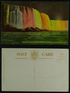 Niagara Falls, Horseshoe Falls Illuminated