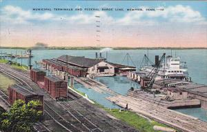 Tennessee Memphis Municipal Terminals and Federal Barge Line 1940