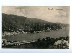 147334 ITALY RAPALLO view Vintage postcard