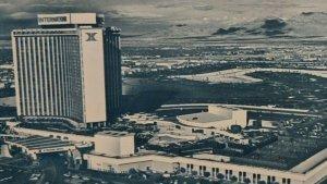 Postcard The International Hilton Hotel Las Vegas Nevada Giant Chrome Unposted
