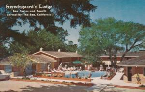 CARMEL-BY-THE-SEA, California 50-60s Svendsgaard's Lodge