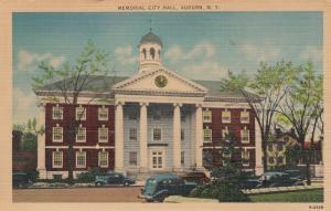 AUBURN, New York, 1930-40s; Memorial City Hall