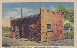 Michigan Dearborn Bagley Avenue Birthplace Of Ford Car Greenfield Village