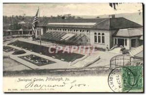 Old Postcard Pittsburgh Zoo Zoological Garden