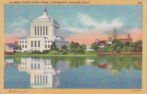 California Oakland Alameda County Court House On Lake Meritt