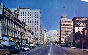 Utah Salt Lake City Main Street