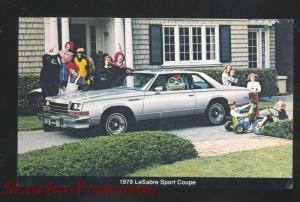 1979 BUICK LESABRE SPORT COUPE CAR DEALER ADVERTISING POSTCARD