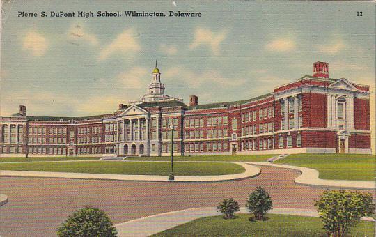 Delaware Wilmington Pierre S DuPont High School 1947