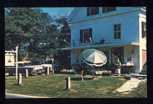 Yarmouth Port, MA/Mass Postcard, Christmas Tree Shops, 1957 Bel-Air, Cape Cod