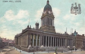 LEEDS, England, 1907 ; Town Hall , Version-2