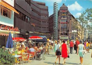 Hamburg Strasse Terrace Street Shops Coffee