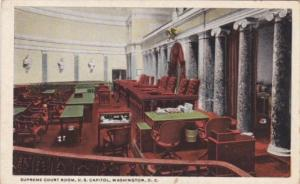 Washington D C Supreme Court Room Capitol Building