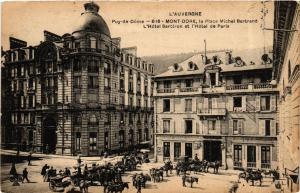 CPA Le Mont-Dore La Place Michel Bertrand, L'Hotel Sarciron (721185)