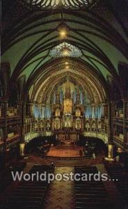 Montreal, PQ Canada, du Canada Notre Dame Church  Notre Dame Church