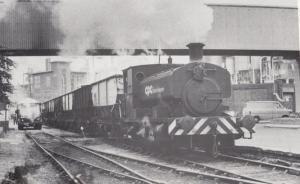 CPC Trafford Park Manchester Railway 1977 Coal Industry 3597 Train Postcard