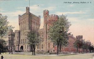 New York Buffalo 74th Regt Armory 1911