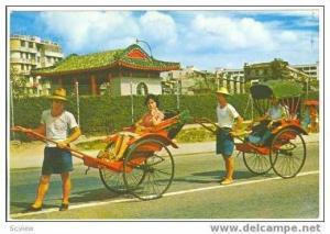 Rickshaw pleasure rides, Hong Kong, 50-70s