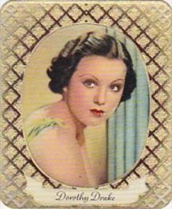 Garbaty Cigarette Card 1934 Modern Beauties No 284 Dorothy Drake