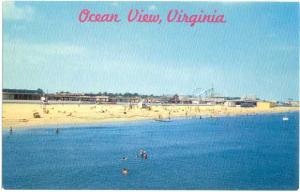 Ocean View Amusement Park Norfolk Virginia VA, Chrome