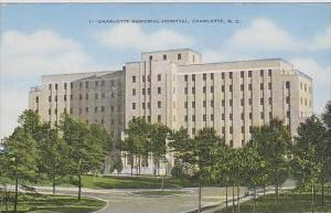 North Carolina Charlotte Charlotte Memorial Hospital