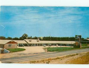 Vintage Post Card General Kershaw Motel U S 601 Kershaw S C   # 4306