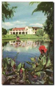 Old Postcard Cuernavaca Golf Club Mexico