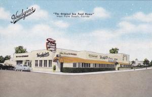 Hudgin's Sea Food Restaurant,  WEST PALM BEACH , Florida , 30-40s