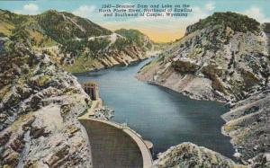 Wyoming Seminoe Dam and Lake On The North Platte River