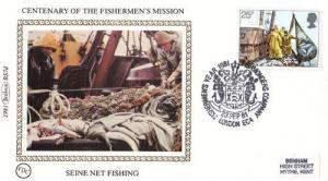 Seine Net Fishing Fishermen Benham First Day Cover