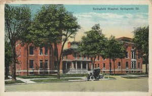 SPRINGFIELD , Illinois, 1910s ; Springfield Hospital