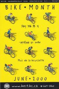 Bike Month June 2000, Better enviromentally Sound Transportaiton, British Col...