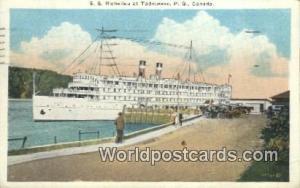 Tadoussac, PQ Canada, du Canada SS Richelieu  SS Richelieu