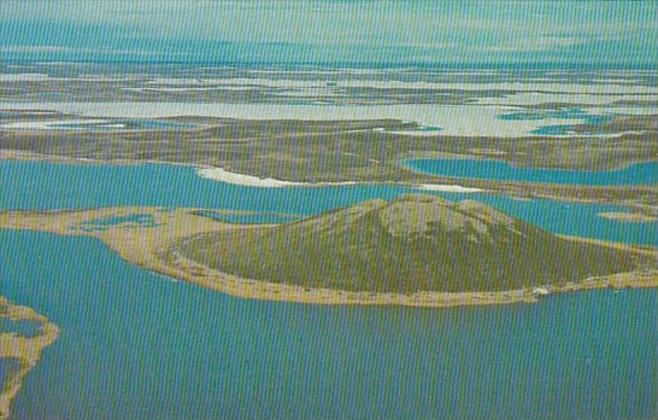Canada Northwest Territories Tuktoyaktuk Pingo Eskimo For Ice Cored Mound