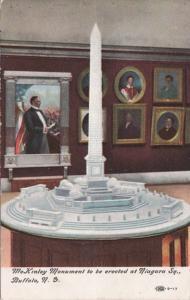 New York Buffalo Model Of McKinley Monument