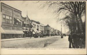 Mason City IA Main St. c1905 Postcard
