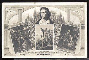 100th Anniversary of the Death of Friedrich von Schiller 1905 Multi View