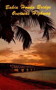 Florida Keys Bahia Honda Bridge 1971